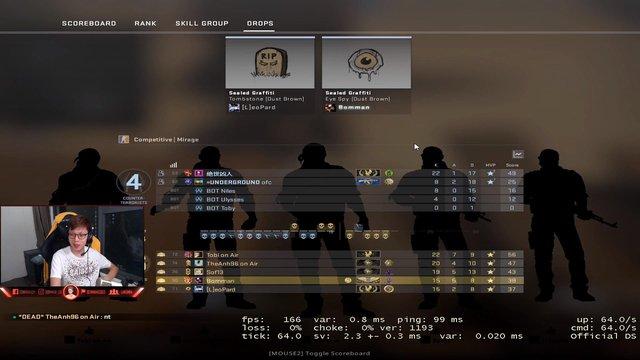 Giữa mùa chuyển nhượng căng thẳng của LMHT, Vua trò chơi SofM vào CS:GO smurf rank cùng Bomman - Ảnh 2.
