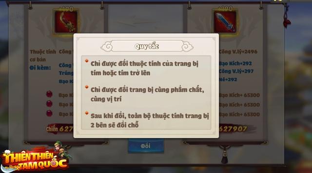 Fan chiến thuật chấm điểm 10 cho Thiên Thiên Tam Quốc: Tướng đổi ngang đồ, tha hồ xoay team, bảo toàn 100% tài nguyên! - Ảnh 6.