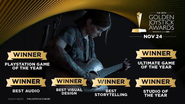 The Last of Us 2 thiết lập kỷ lục mới, sẵn sàng thách thức mọi đối thủ tại The Game Awards 2020 - Ảnh 3.