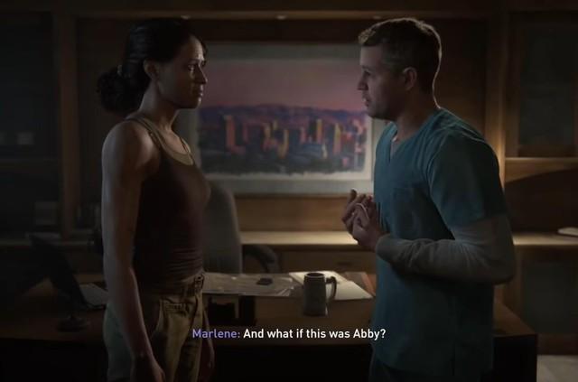 ND đã thất bại trong việc xây dựng cha Abby thành một anh hùng.
