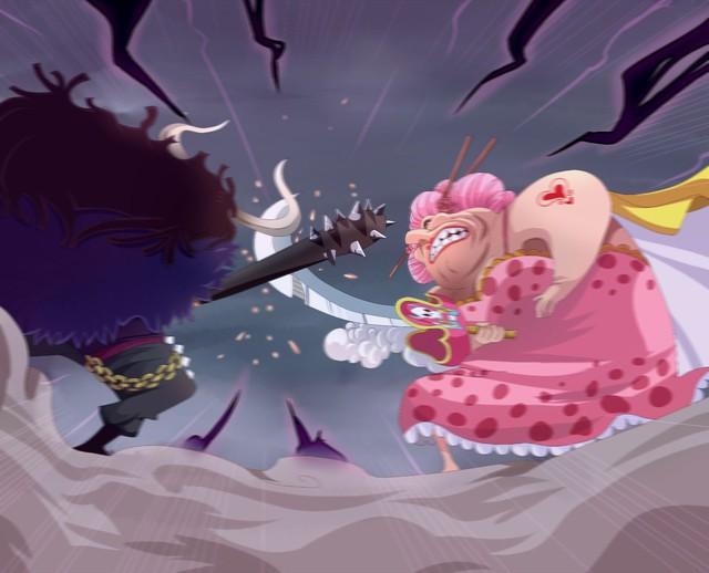 One Piece: Sau nhiều ngày chờ đợi, cuối cùng thời khắc Kaido và Big Mom chạm mặt cũng xảy ra trong anime - Ảnh 3.