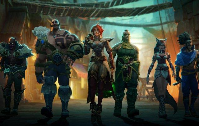 Riot Games bất ngờ ra mắt tựa game nhập vai đánh theo lượt lấy bối cảnh vũ trụ Liên Minh Huyền Thoại - Ảnh 1.
