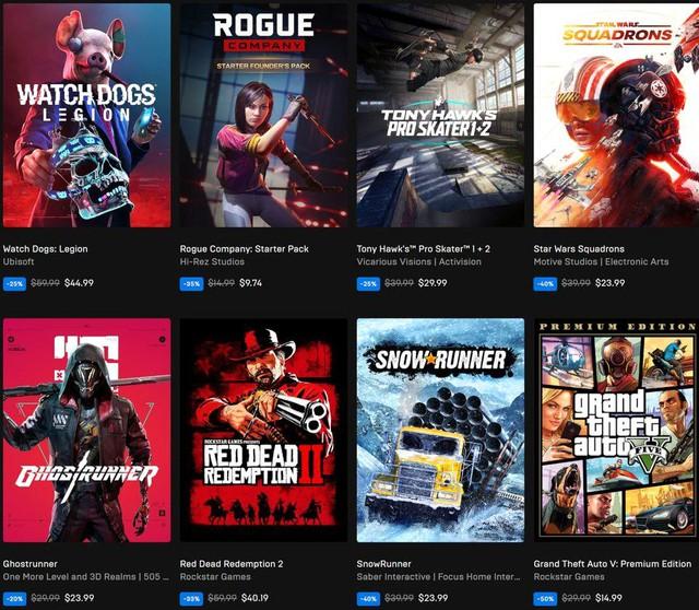 Epic Games Store cũng tung ra khuyến mãi Black Friday Photo-1-1606715092590153129839
