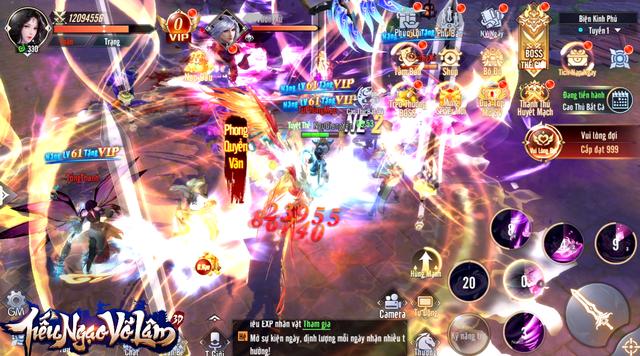 Đẳng cấp game độc quyền: Tiếu Ngạo Võ Lâm có hẳn BXH Cày Chay, team nông dân chuẩn bị Đua TOP nhận 5.000 KNB - Ảnh 10.