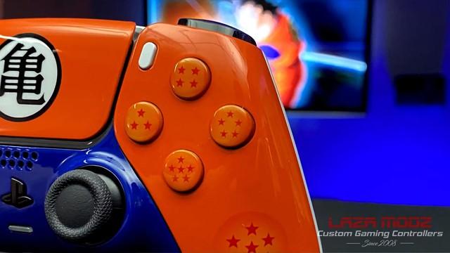 Youtuber tự tay tạo ra phiên bản Dragon Ball Z tuyệt đẹp của tay cầm PS5 DualSense - Ảnh 2.