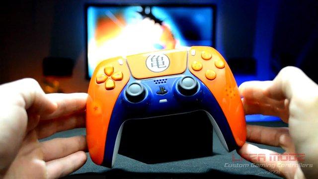 Youtuber tự tay tạo ra phiên bản Dragon Ball Z tuyệt đẹp của tay cầm PS5 DualSense - Ảnh 4.