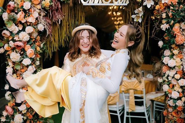 Vợ trẻ 2k2 của Xemesis chơi thân với toàn gái xinh, siêu đám cưới sẽ là cuộc đua bùng nổ nhan sắc - Ảnh 12.