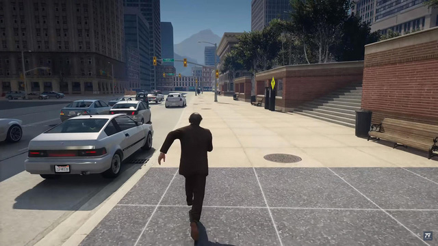 Thấy Los Santos còn bé, hai game thủ thêm hẳn thành phố Chicago rộng lớn vào GTA 5 để chơi - Ảnh 3.