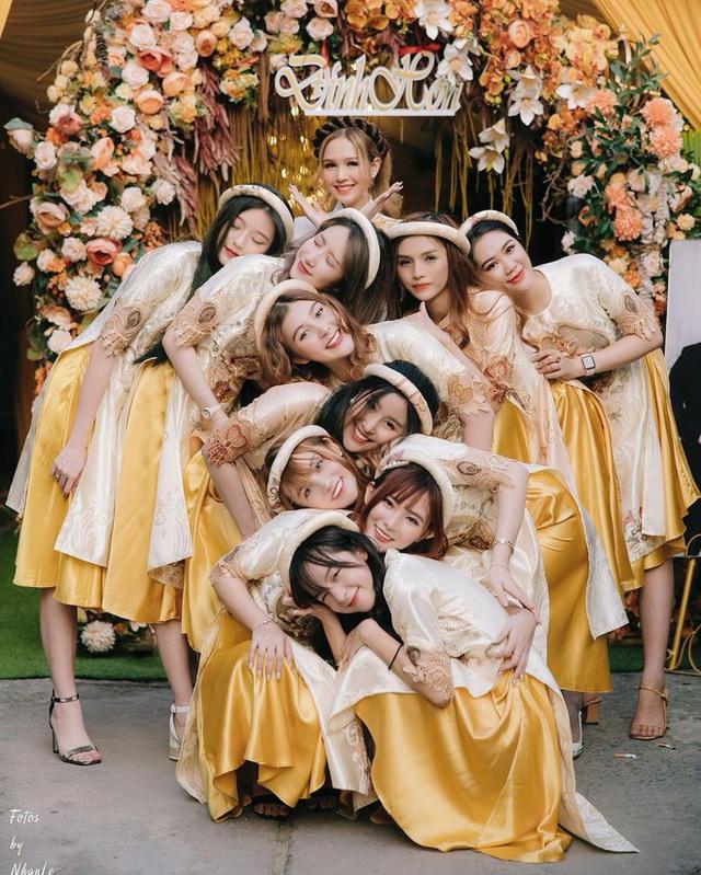 Vợ trẻ 2k2 của Xemesis chơi thân với toàn gái xinh, siêu đám cưới sẽ là cuộc đua bùng nổ nhan sắc - Ảnh 6.