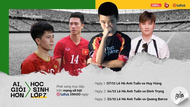 Thần đồng PES 12 tuổi gửi lời thử thách đến hai tuyển thủ bóng đá Việt Nam - Ảnh 4.