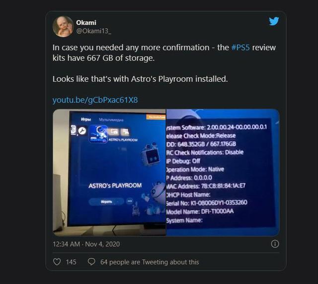 Dung lượng lưu trữ thực của PS5 sẽ chỉ có 667GB, game thủ sẽ phải bỏ ra thêm 7 triệu VNĐ nếu muốn nâng cấp - Ảnh 2.