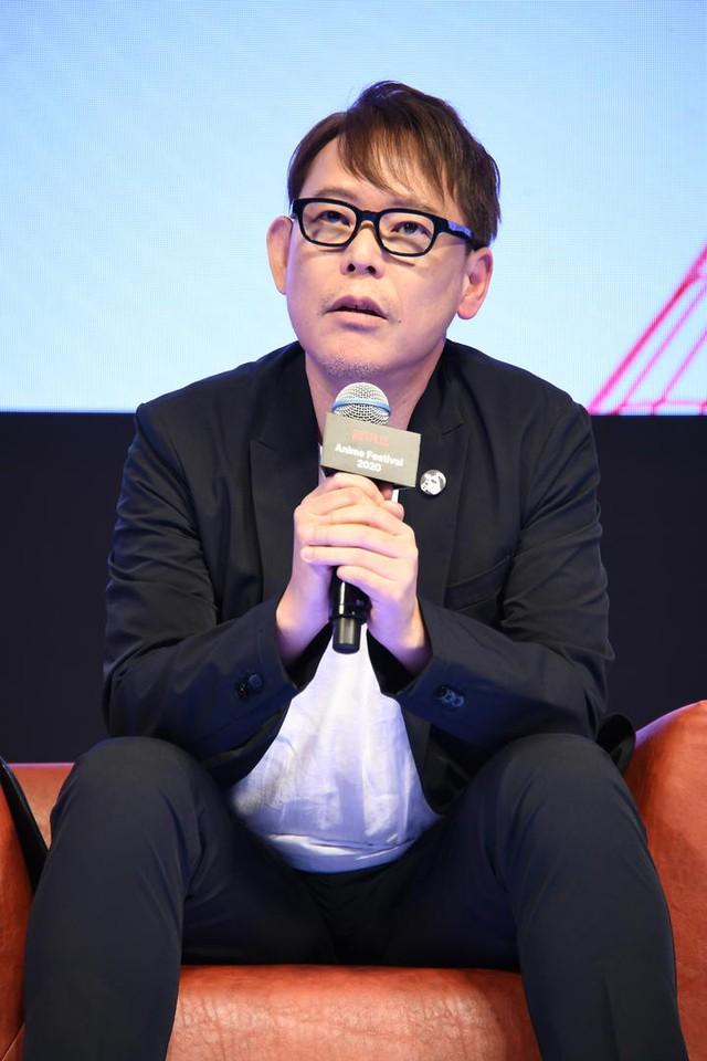 """Nhà sản xuất Tanaka Shuichiro (David Production): """"Có cơ hội làm việc chặt chẽ với Netflix, tôi cảm nhận được sự thay đổi theo hướng toàn cầu hóa rất rõ nét."""""""