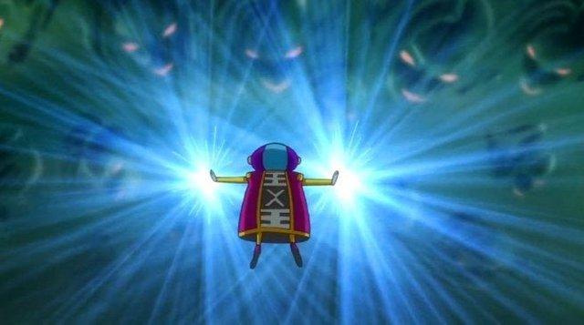 Khác hẳn với khuôn mặt ngây ngô thì hình dáng thật của Zeno sẽ xuất hiện trong Dragon Ball Super 2? - Ảnh 1.