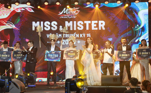 Đêm chung kết của cuộc thi Miss & Mister VLTK 15 - Hấp dẫn, gay cấn và ngập tràn cảm xúc - Ảnh 9.