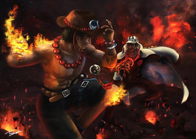 Hỏa Quyền Ace và hành trình của chàng thanh niên thích ăn hành nhất One Piece, đời người không ai may mắn được mãi - Ảnh 8.