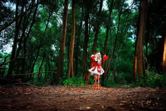 Rụng tim với cosplay Genshin Impact cực đỉnh của mỹ nhân Việt - Ảnh 3.