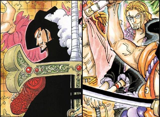 Giả thuyết One Piece gây sốc: Mihawk là con trai của Rayleigh nên mới quen biết và thân thiết với Shanks? - Ảnh 3.