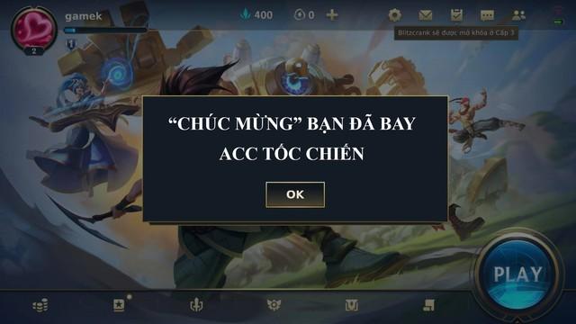 VNG làm game thủ Tốc Chiến phải hối hận khi cố tình khai sai thông tin, hậu quả người chơi sẽ mất hết - Ảnh 3.