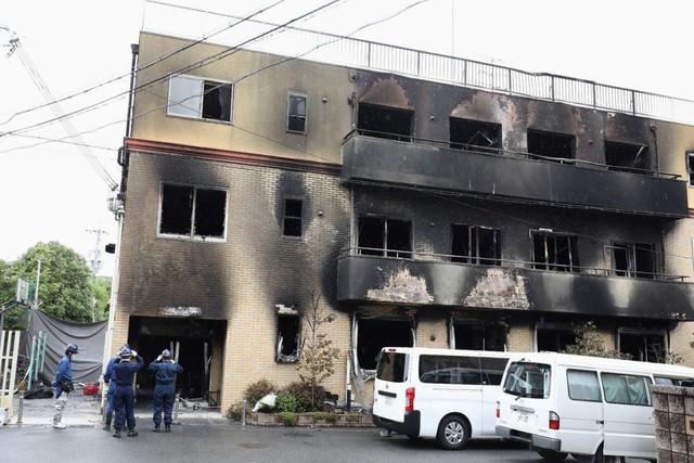Nghi Kyoto Animation ăn cắp bản quyền anime, nam thanh niên bị khởi tố vì tội dùng xăng đốt studio - Ảnh 1.