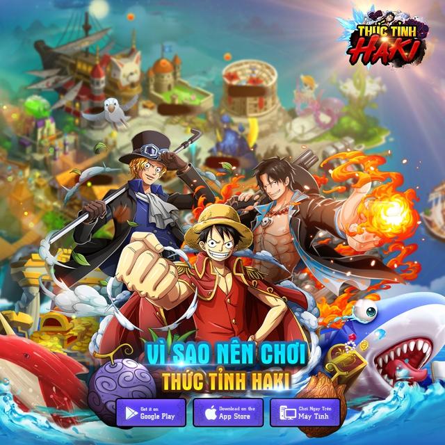 Thức Tỉnh Haki - game mobile chủ đề One Piece hấp dẫn sắp ra mắt tại Việt Nam - Ảnh 1.