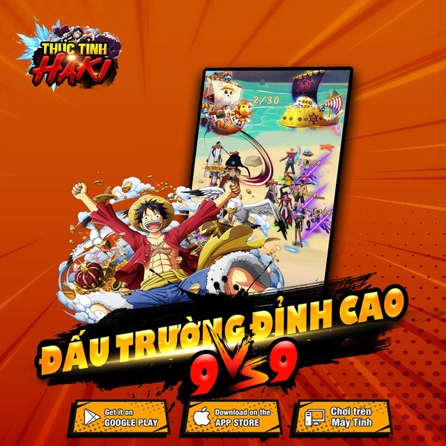 Thức Tỉnh Haki - game mobile chủ đề One Piece hấp dẫn sắp ra mắt tại Việt Nam - Ảnh 2.