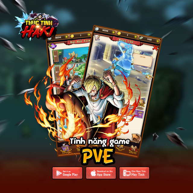 Thức Tỉnh Haki - game mobile chủ đề One Piece hấp dẫn sắp ra mắt tại Việt Nam - Ảnh 3.