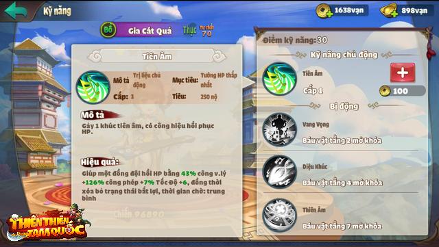 Vừa vào game đã tặng siêu buff, tìm đâu ra tựa game chiều nông dân được như Thiên Thiên Tam Quốc! - Ảnh 4.