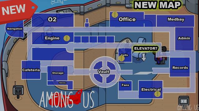 Map mới của Among Us bất ngờ được hé lộ tới game thủ, hấp dẫn như phim hành động - Ảnh 1.