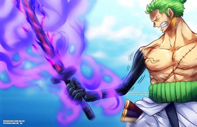 Sanji bị sa vào lưới nhện, Zoro sẽ chém Kaido bằng Enma vào One Piece chap 1000? - Ảnh 3.