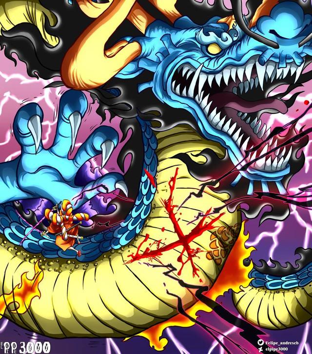 Sanji bị sa vào lưới nhện, Zoro sẽ chém Kaido bằng Enma vào One Piece chap 1000? - Ảnh 2.