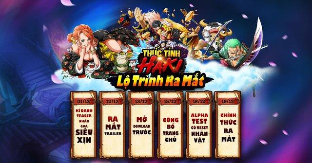 Game mobile đề tài One Piece Thức Tỉnh Haki công bố lộ trình ra mắt game thủ Việt - Ảnh 1.