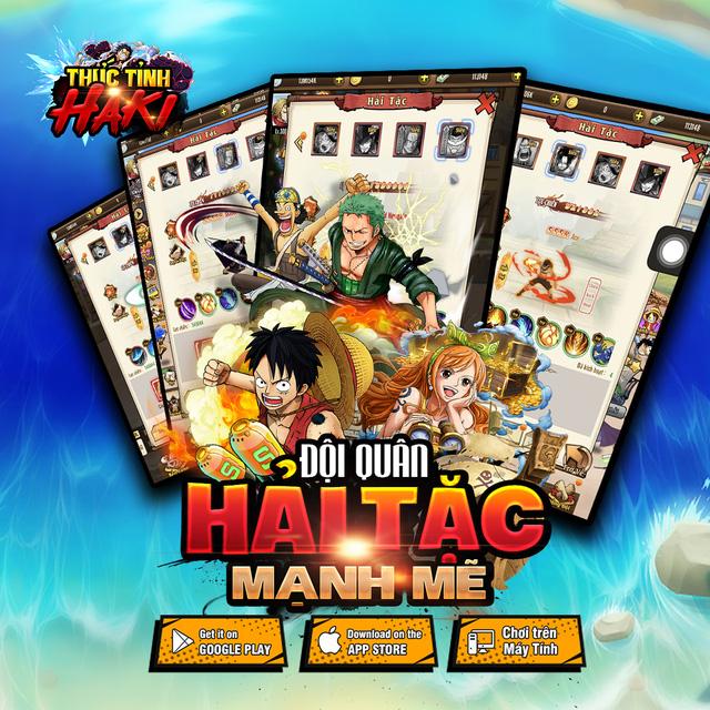 Game mobile đề tài One Piece Thức Tỉnh Haki công bố lộ trình ra mắt  Photo-3-16079368528021224808910