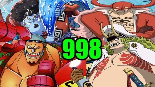One Piece: Top 7 cuộc đối đầu hấp dẫn nhất Wano tính đến chap 998, màn kết hợp chưa từng có để đánh bại Kaido? - Ảnh 3.