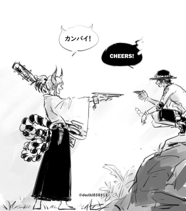 Spoil One Piece 999: Hé lộ về món nợ của 2 Tứ Hoàng, Zoro cưỡi phượng hoàng đại chiến King - Queen - Ảnh 1.