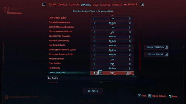 Hướng dẫn game thủ tối ưu đồ họa Cyberpunk 2077 để có thể chơi mượt 60fps - Ảnh 5.
