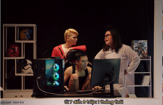 Trở lại sau 2 năm biệt tích, Hot YouTuber Vanh Leg vẫn đu trend mượt mà khiến Độ Mixi khen không ngớt - Ảnh 4.