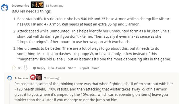 Cộng đồng phàn nàn Rell quá yếu, nhân viên Riot phản pháo - Cô ta chẳng ngán Hỗ trợ tanker nào cả - Ảnh 2.