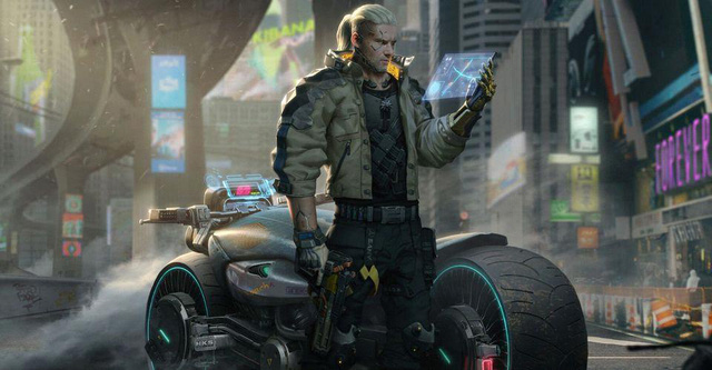 Geralt chuyển nhà từ The Witcher sang Cyberpunk 2077 - Ảnh 1.