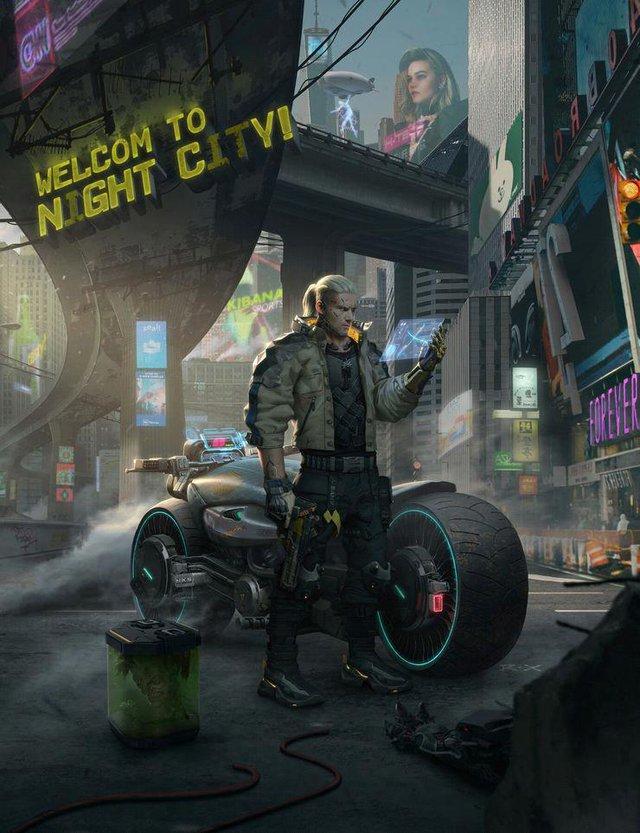 Geralt chuyển nhà từ The Witcher sang Cyberpunk 2077 - Ảnh 2.