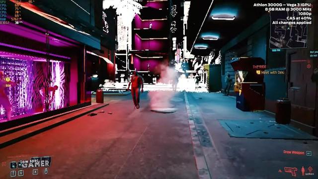 Có thể chơi Cyberpunk 2077 mà không cần card đồ họa rời, tuy nhiên hình ảnh sẽ như thế này đây - Ảnh 1.