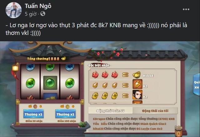 Tựa game chiến thuật gây sốc khi dúi thẳng tiền cho game thủ... bắt phải tiêu: Có ông lơ nga lơ ngơ vào thụt 3 phát được 69.500 KNB mang về - Ảnh 4.
