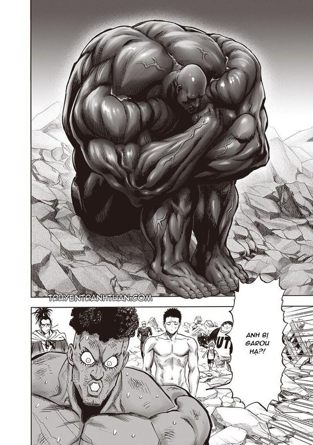 One Punch Man chap 183: Ngóng dài cổ nhưng anh hùng Saitama không xuất hiện, điểm nhấn duy nhất là Garou - Ảnh 1.