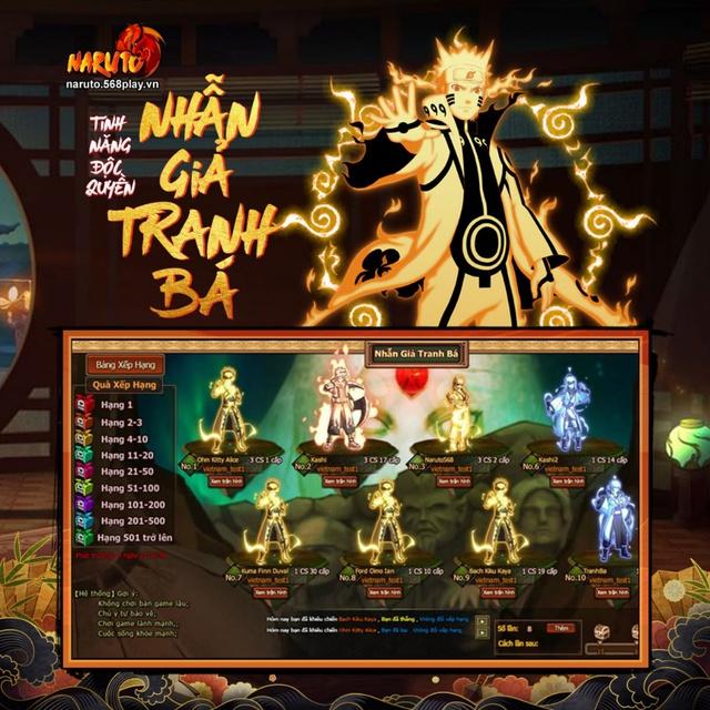 """Cộng đồng game thủ Naruto đứng ngồi không yên với phiên bản Big Update """"siêu to siêu khổng lồ"""" của Naruto 568E - Ảnh 2."""