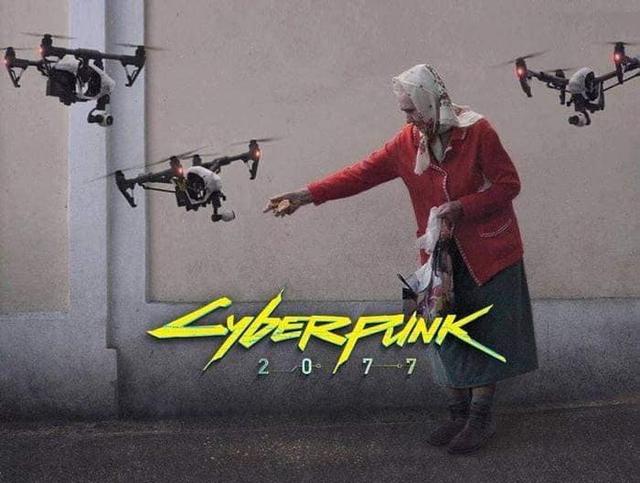 Những hình ảnh hài hước cho thấy hóa ra siêu phẩm game Cyberpunk 2077 lại gần hơn chúng ta nghĩ - Ảnh 5.
