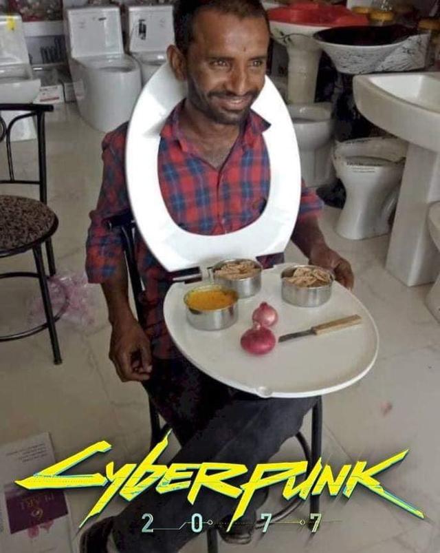Những hình ảnh hài hước cho thấy hóa ra siêu phẩm game Cyberpunk 2077 lại gần hơn chúng ta nghĩ - Ảnh 6.