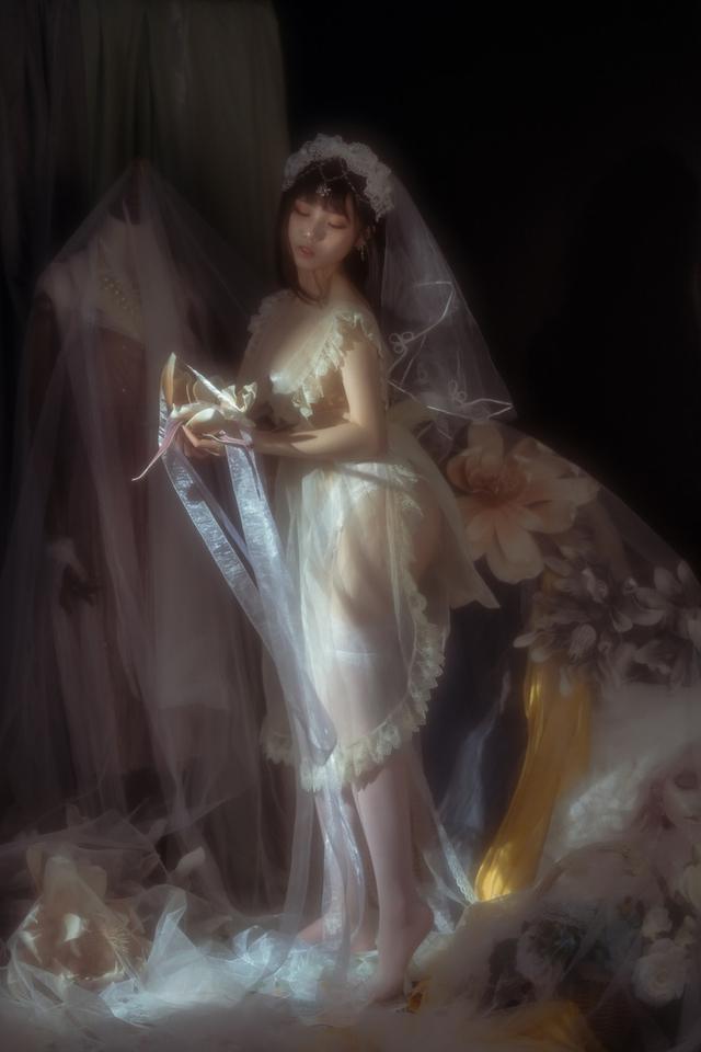 Ngắm thiếu nữ trong bộ váy trắng cô dâu mà chỉ biết thốt lên Ước gì anh lấy được nàng về dinh - Ảnh 12.