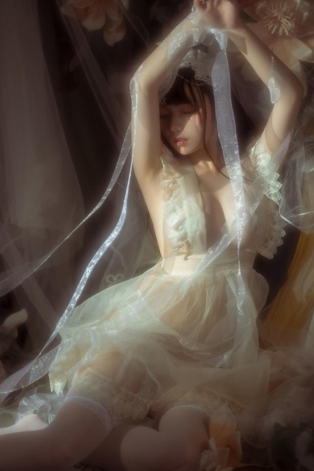 Ngắm thiếu nữ trong bộ váy trắng cô dâu mà chỉ biết thốt lên Ước gì anh lấy được nàng về dinh - Ảnh 13.
