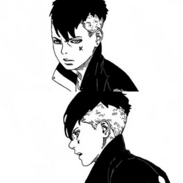 Kawaki trong manga Boruto