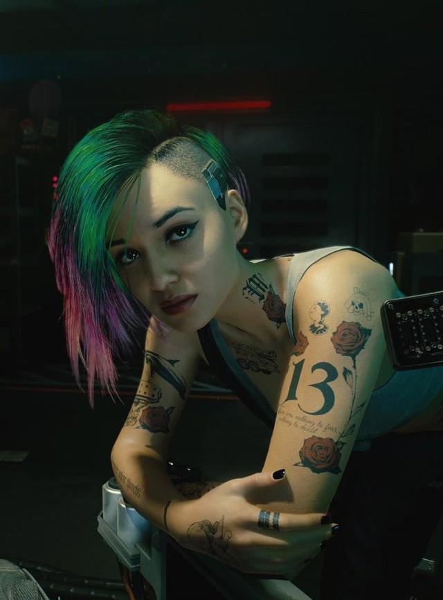 Xuất hiện cô nàng xinh đẹp Judy Alvarez phiên bản đời thật, sexy không kém trong Cyberpunk 2077 - Ảnh 8.