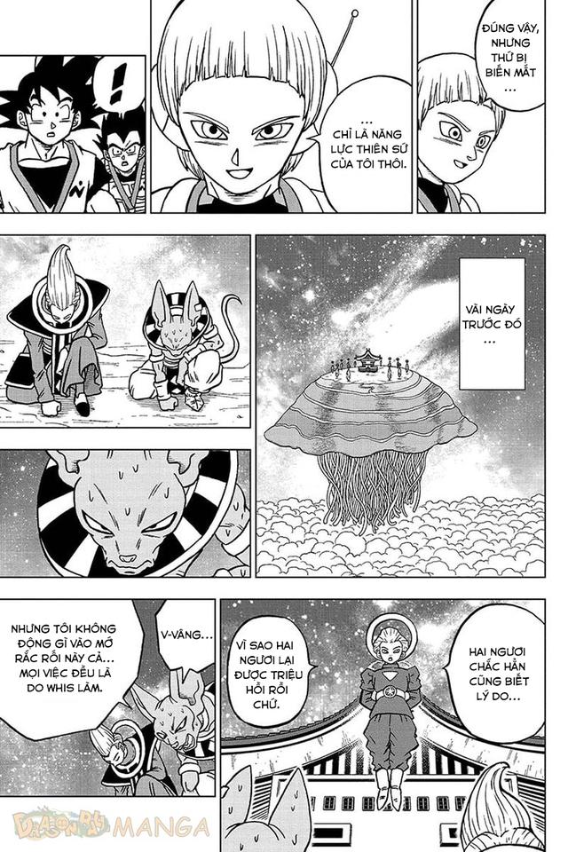 Dragon Ball Super: Mất sức mạnh của Thiên Sứ, liệu Merus có sử dụng được bản năng vô cực hay không? - Ảnh 2.